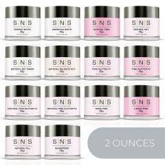 SNS279 Pink & White (2 oz)